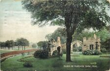 Ruins in Pearson Park Hull