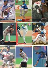 9-pedro martinez all montreal expos card lot nice mix