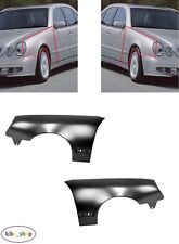 MERCEDES-BENZ E-CLASS W210 1999 - 2002 NEW FRONT WINGS FENDERS PAIR LEFT + RIGHT