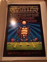 Authentic 1968 Jimi Hendrix BG140 Bill Graham Poster Winterland San Francisco
