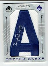 2006-07 06-07 SP Authentic Letter Marks Michael Mike Peca Autograph Auto 'A'
