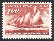 Dinamarca 1982 Customs & impuesto especial servicio/barcos/Navegación/barcos/transporte 1 V (n40942)