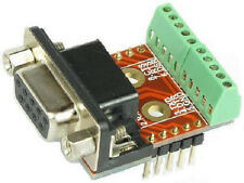 RS232 DB9 COM Port Breakout Boards (Female) eLabGuy D9-F-BO-V2A