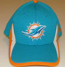 New Era Hat Cap NFL Football Miami Dolphins M/L 39thirty 2013 Training Reverse