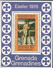 Grenada & The Grenadines scott # 173 MNH. Navidad / Christmas HB