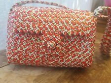 Handmade Recycled Purse Made From Chili Plastic Wrappers Red Small Purse Tote
