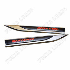 MAZDA SPEED Performance Accessories Symbol Car Fender Side Sticker Alloy Emblem