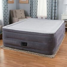 Intex Comfort Plush High Rise Profile Air Mattress w/ Built-in Pump Twin New