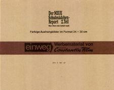 Schulmädchen-Report 2. Teil ORIGINAL Umschlag des deutschen Erotik-Klassikers