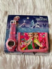 Frozen Watch Wallet Set Gift Kids Present BNIP