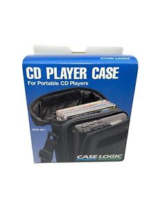 Case Logic DM-1 CD Player Case - FREE SHIPPING WITHIN USA !