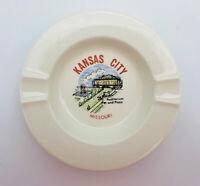 Vintage Kansas City Missouri Auditorium & Plaza Ashtray Play Theater Concert