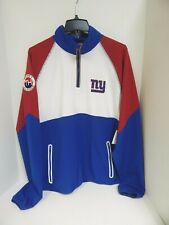 New York Giants MENS Jacket 1/4 Zip Tommy Hilfiger NFL...