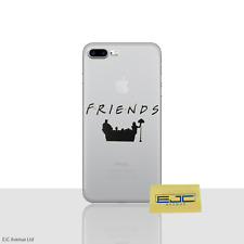 "Friends Phone Case/Cover For Apple iPhone 8 Plus (5.5"") Screen Protector / Couch"