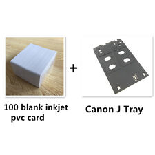 Inkjet PVC ID Card Starter Kit - Canon J Tray - MG5450, MX925, MG7570,IP7270