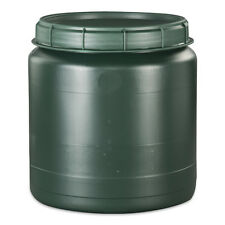 40 Liter grüne Futtertonne Futterfass Vorratstonne Drehdeckel NEU.