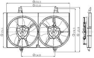 Radiator Fan Assy Global Parts Distributors 2811529