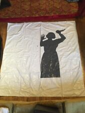 VTG 1987 Don Barber Alfred Hitchcock Psycho Film Movie Shower Curtain Horror