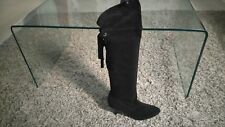 NEW LOOK REAL SUEDE OVER THE KNEE BOOTS.R.R.P £55.NEW