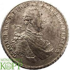 AA1981) LÖWENSTEIN-WERTHEIM-ROCHEFORT Konv.-Taler 1769 Karl Thomas, 1735-1789