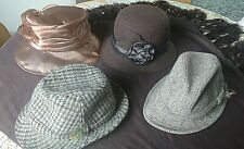 Job lot of vintage hats. Hand picked selection of quality items.