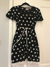 Women JUICY COUTOURE Velour Dress With Embroidery Size S