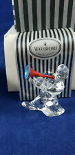 WATERFORD CRYSTAL CLOWN MERRY MUSIC VINTAGE TRUMPET PLAYER