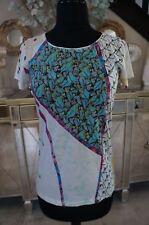 NEW Bali Hai Hawaii Pashma Anthropologie SOFT Supima Cotton Shirt Blouse Top S