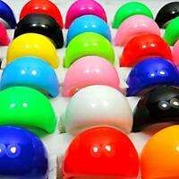 100pcs Colourful Resin Rings Lots Fashion Mixed Multicolor Wholesale Jewelry