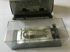 MAX MODELS 11000 SAUBER MERCEDES C9 #63 SILBERPFEIL 1989 WC 1/43 SCALE SILVER