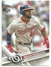 Brian Goodwin Washington Nationals 2017 Topps Baseball Rookie Card