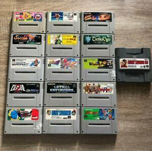 Lot 16 jeux Super Famicom Game Boy Adaptateur import JAPAN SNES Nintendo SFC