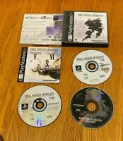 Final Fantasy Anthology Collector's Package (Sony PlayStation 1, 1999) CIB PS1