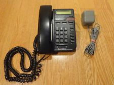 Northern Telecom NORTEL M9009 NT2N76AA1121 Black Meridian Desk/Wall Phone
