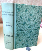 COMPLETE HUMOROUS SKETCHES & TALES,1961,Mark Twain,1st Ed,Illust