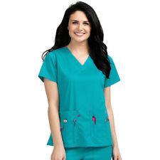 Med Couture Scrubs Set ENERGY Shirttail Serena Top /& 3 Pocket Pant/_8579//8718