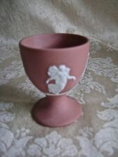 RARE WEDGWOOD TERRACOTTA JASPERWARE EGG CUP WITH DANCING HOURS THEME