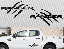 For FORD RANGER PX WILDTRAK 4X4 raptor style Decal x2 Sticker 600mm