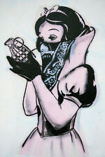 BEAUTIFUL BANKSY GRAFFITI STREET ART CANVAS PICTURE #8 CONTEMPORARY POP ART A1