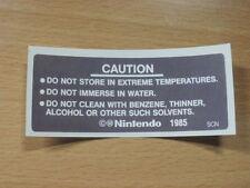 NES Nintendo Back Label Cartridge Replacement Game Label Sticker Precut