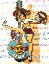 HRC Hard Rock Cafe Dallas 2005 Cheerleader Girl Pin LE New # 31012