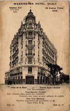 CPA   Wahington Hotel -Meuble - Prés de la Gare - Ouvert toute l'Année  (513597)