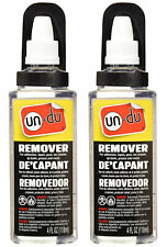 Un-Du Original Formula Comercial Adhesive Remover, 4 oz, 2 Bottles