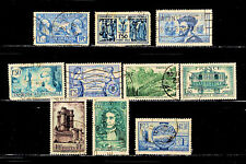 France Early Collection Lot All Different Stamps Scott #244//352 Used   <A535>