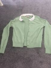 Ladies Cath Kidston Green Cardigan Size XS