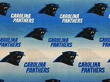 """CAROLINA PANTHERS NFL 60"""" Cotton Fabric BTY Fabric Traditions N"""