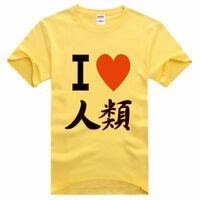 Men Women Cotton T Shirt Anime No Game No Life Short Sleeve T-shirt Casual Tees