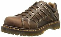 Dr. Martens Mens Keith Leather Lace Up Casual Oxfords, Tan, Size 8.0 FicI