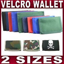 Boys Girls Childrens Kids Compact Velcro Tri-Fold Wallet School Trip Summer