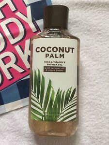 Bath & and Body Works COCONUT PALM Shower Gel. 295ml. RRP $13.50. *NEW*